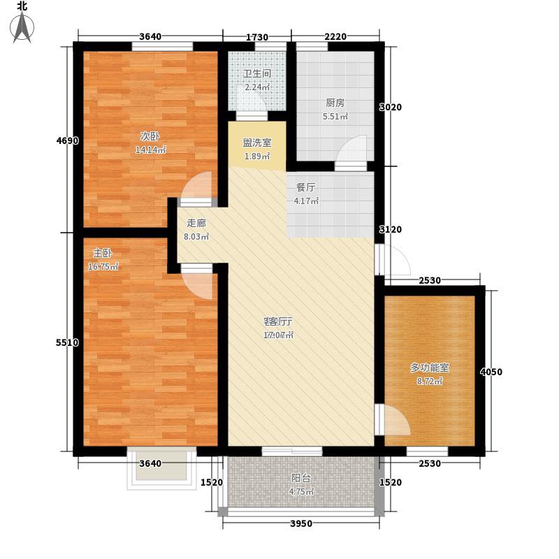 水玲珑98.57㎡水玲珑户型图户型图三室二厅一卫98.573室2厅1卫户型3室2厅1卫
