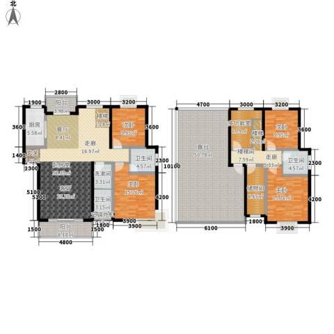 金桥慧景4室0厅3卫1厨207.11㎡户型图