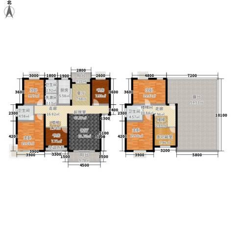 金桥慧景6室0厅3卫1厨226.92㎡户型图