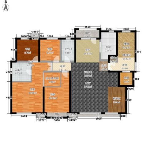绿地中央墅4室0厅2卫1厨183.00㎡户型图