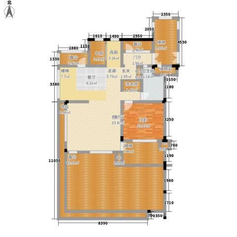 融创上城1室1厅1卫0厨214.00㎡户型图