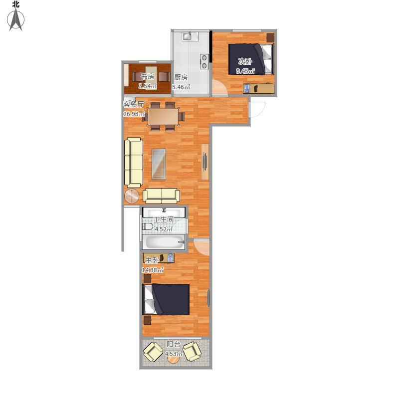 溪岸澜庭13号06室