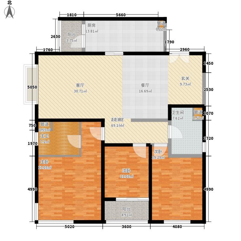 世茂外滩新城183.00㎡世茂外滩新城183.00㎡3室2厅2卫户型3室2厅2卫