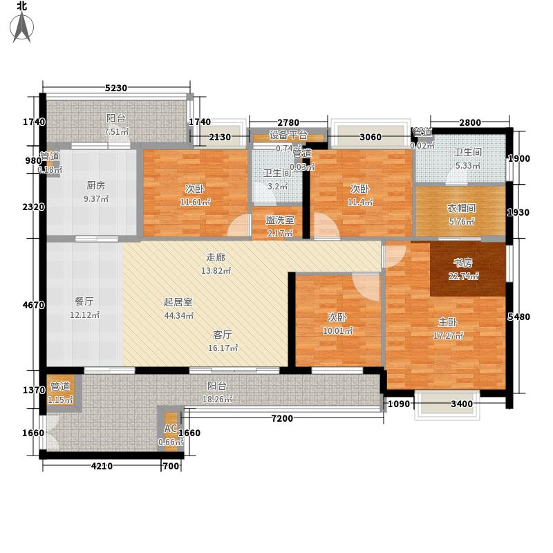 世欧王庄2#1单元户型10室