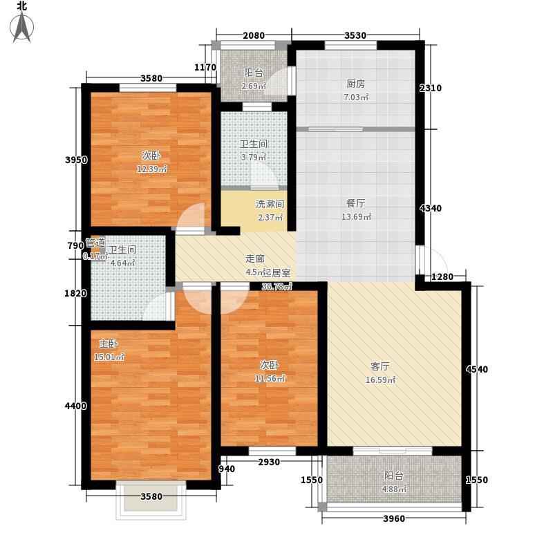 聚江苑114.00㎡聚江苑户型图3室户型图3室2厅1卫1厨户型3室2厅1卫1厨