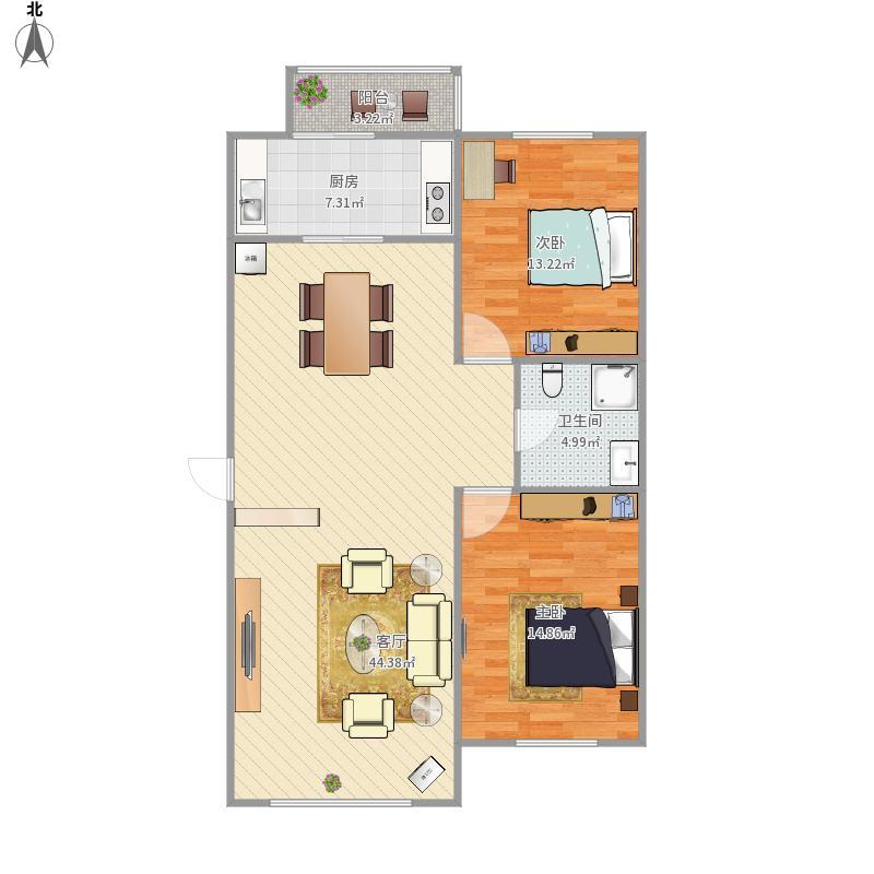 居忆6号楼三室