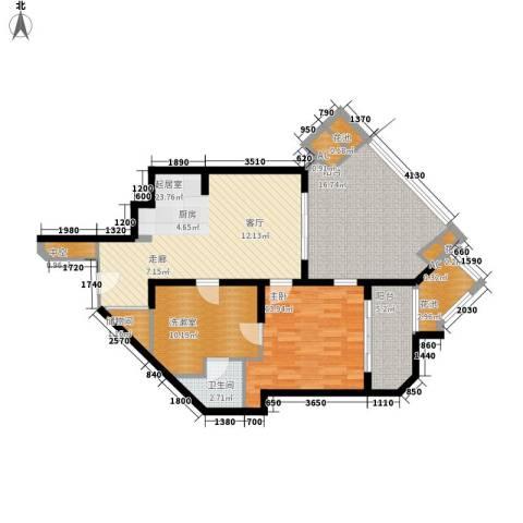 东和福湾1室0厅1卫0厨104.00㎡户型图