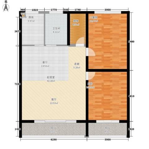省建二公司宿舍2室0厅1卫1厨149.00㎡户型图