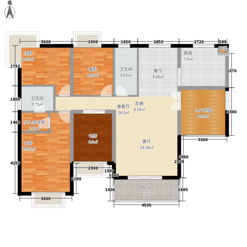 星海花园星海花园户型图四室两厅两卫14室2厅2卫1厨户型4室2厅2卫1厨