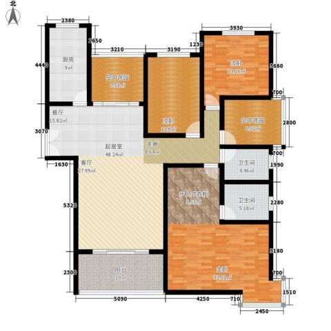 曲江诸子阶3室0厅2卫1厨172.00㎡户型图