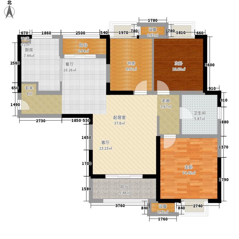 融绿熙园110.00㎡融绿熙园户型图1号楼A户型3室2厅1卫1厨户型3室2厅1卫1厨