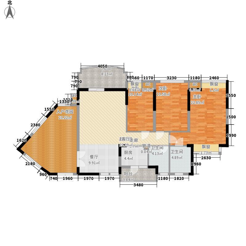 星城国际花园四期118.00㎡星城国际花园四期户型图14栋F3-a户型3室2厅2卫1厨户型3室2厅2卫1厨