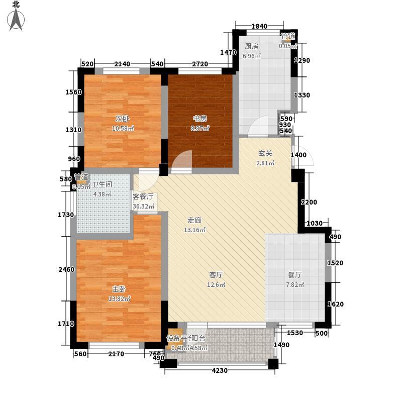 三一・新境界114.00㎡三一・新境界户型图户型图洋房B43室2厅1卫户型3室2厅1卫