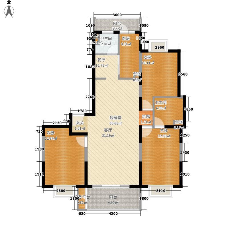 海伦新苑海伦新苑三室户型10室