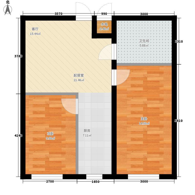 实化社区实化社区10室户型10室