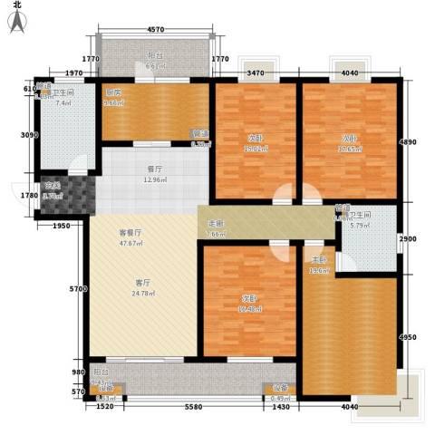 贵都之星4室1厅2卫1厨179.00㎡户型图