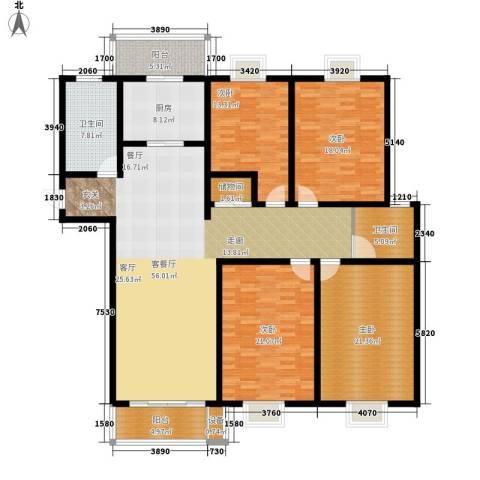贵都之星4室1厅2卫1厨185.00㎡户型图