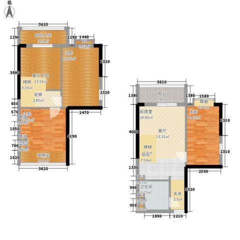 星御翠园3室0厅1卫0厨82.74㎡户型图