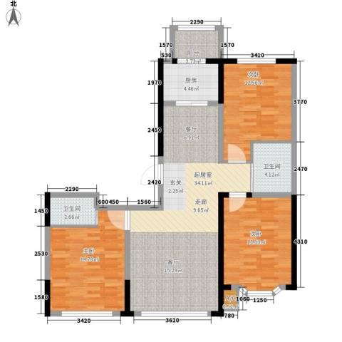 彩虹风景3室0厅2卫1厨120.00㎡户型图
