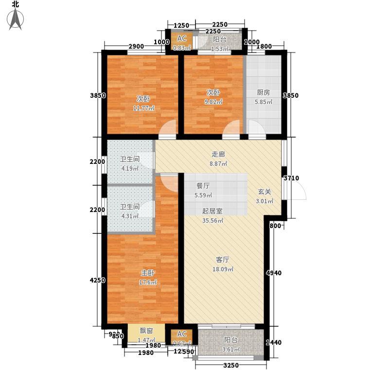 东港龙城三期优仕名苑135.39㎡东港龙城三期优仕名苑户型图402#楼C户型3室2厅2卫1厨户型3室2厅2卫1厨
