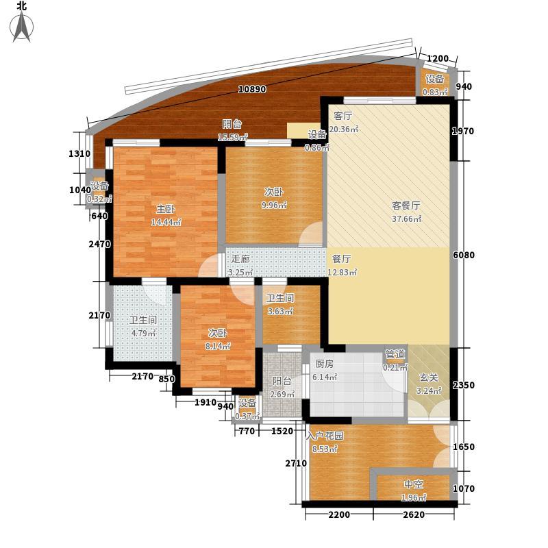 盛华苑盛华苑10室户型10室