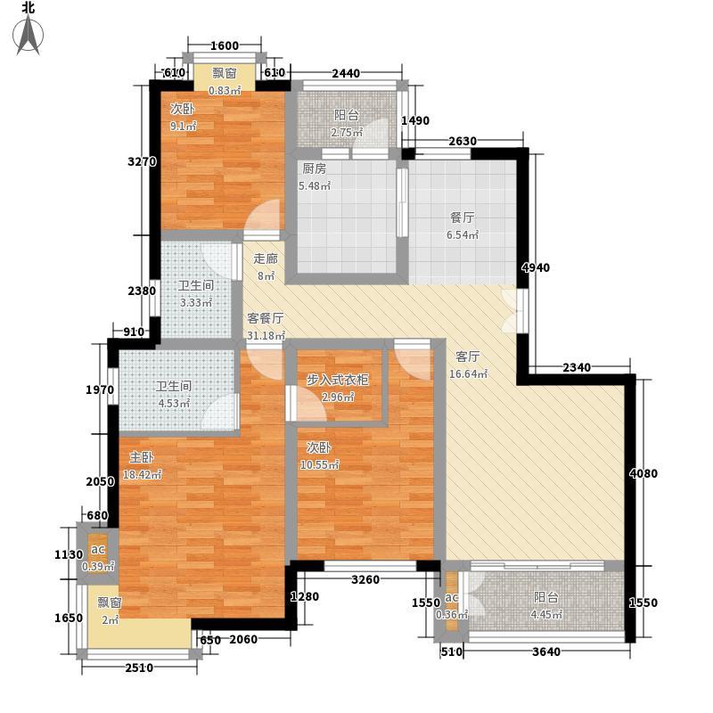 济南鲁能领秀城136.57㎡济南鲁能领秀城户型图E6/E7#A1(售完)3室2厅2卫户型3室2厅2卫