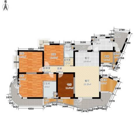 五洲华府4室0厅2卫1厨235.00㎡户型图
