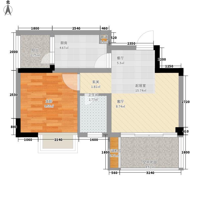 美丽庭院美丽庭院10室户型10室