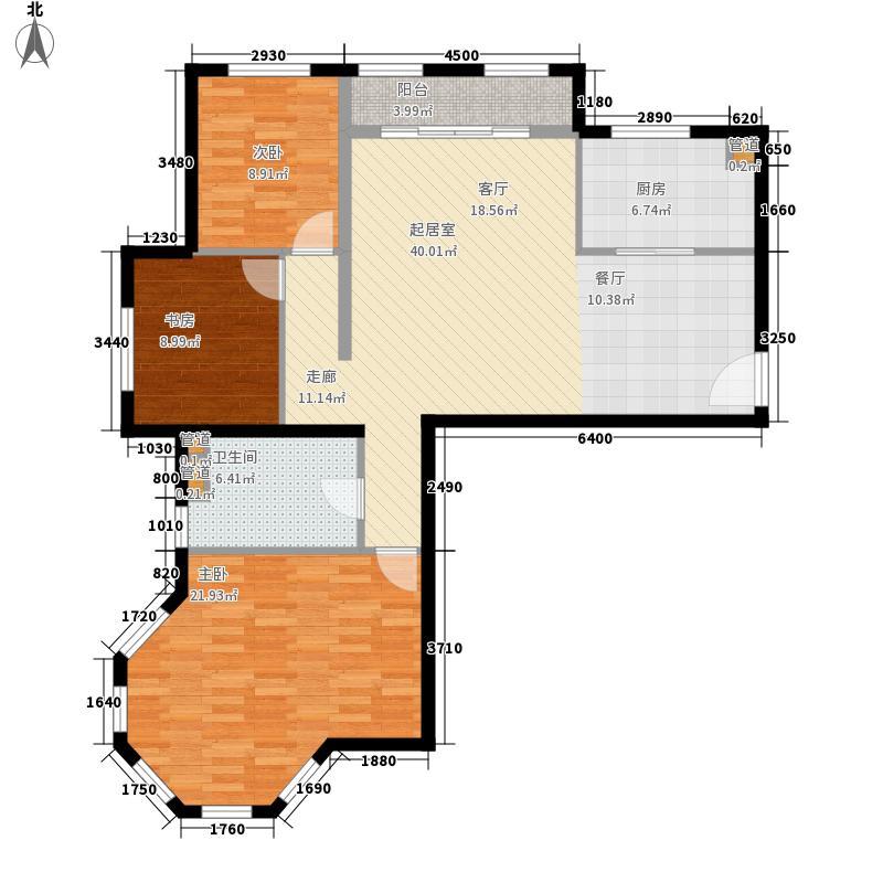 置城8号公馆111.46㎡置城8号公馆户型图二期s1a户型3室2厅1卫户型3室2厅1卫