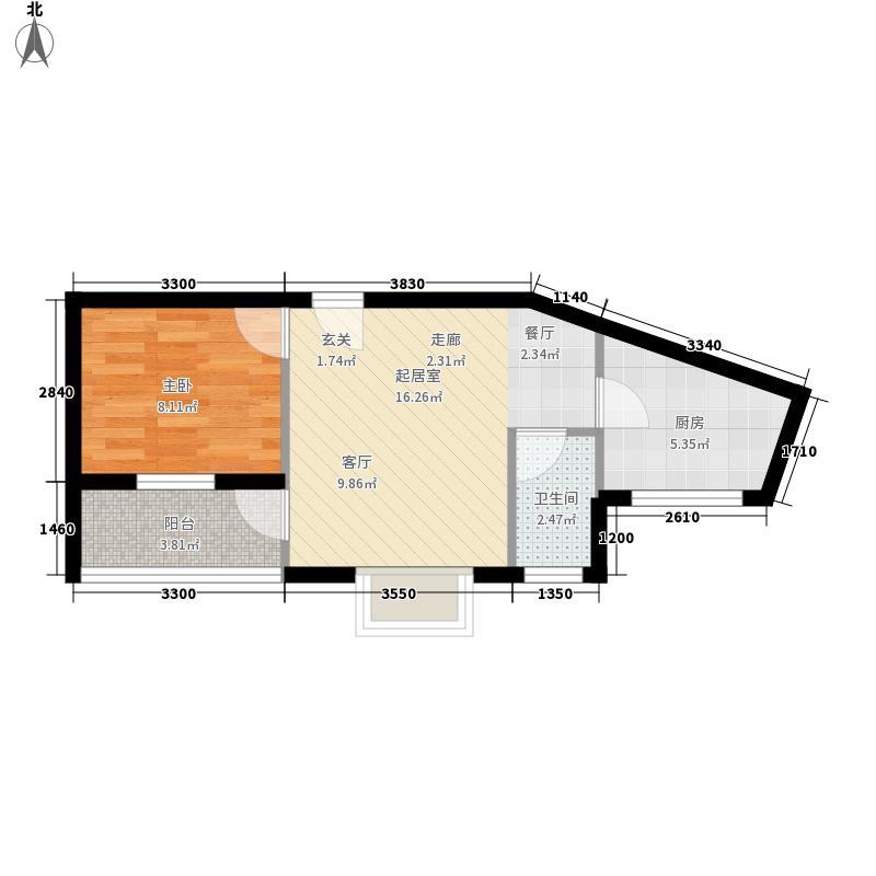 翡翠园41.44㎡翡翠园户型10室
