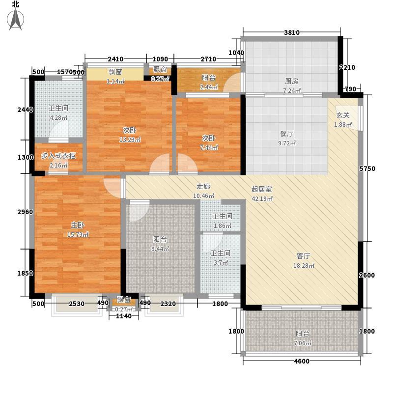 御品泰景116.00㎡御品泰景户型图12栋02户型3室2厅2卫1厨户型3室2厅2卫1厨