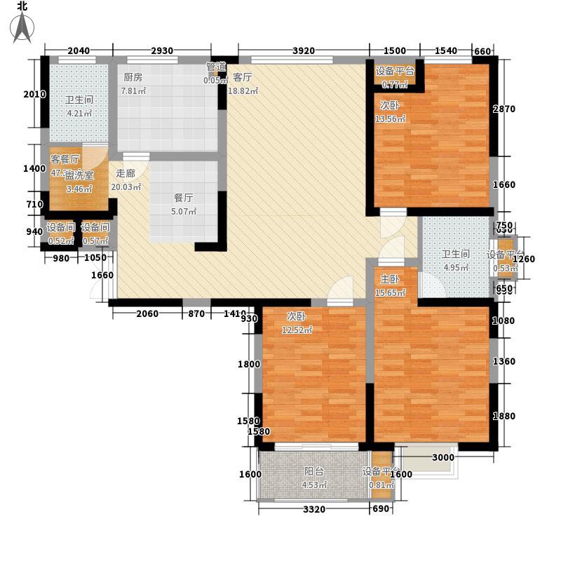 金恒蓝岸133.35㎡金恒蓝岸户型图2栋户型平面A、C型3室2厅2卫户型3室2厅2卫