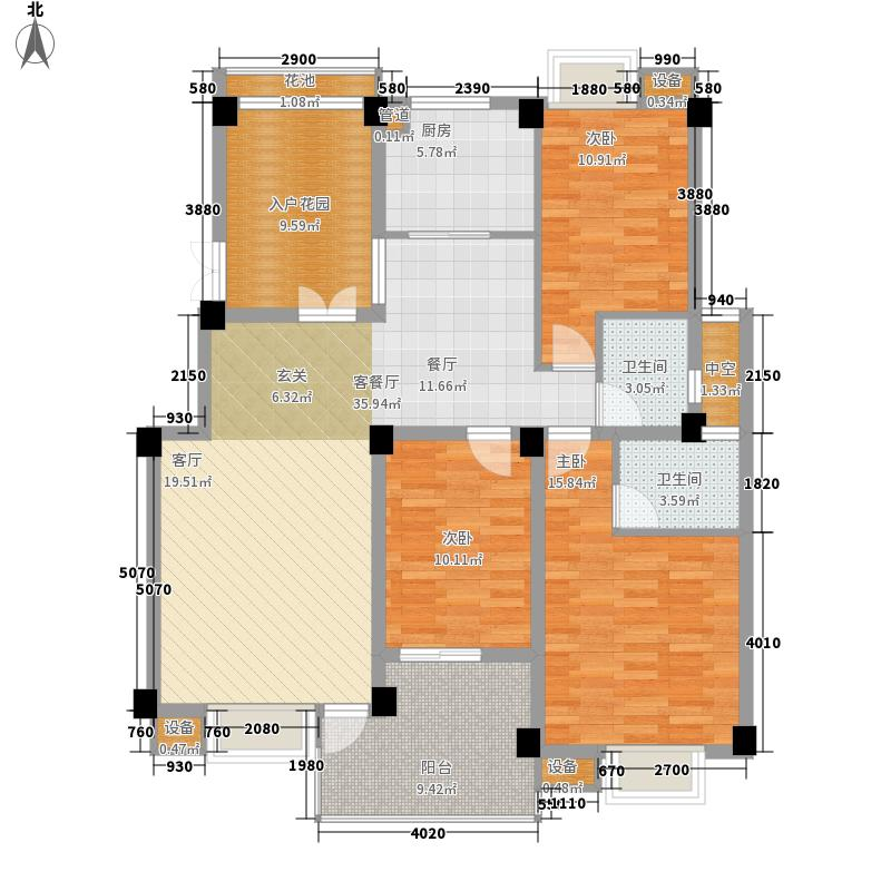 世欧彼岸城世欧彼岸城户型图3室2厅2卫1厨户型10室