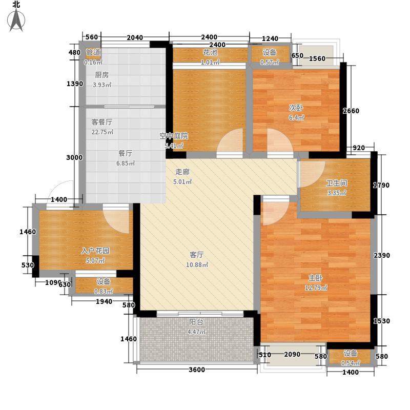 华宇未来城120.00㎡华宇未来城3室户型3室