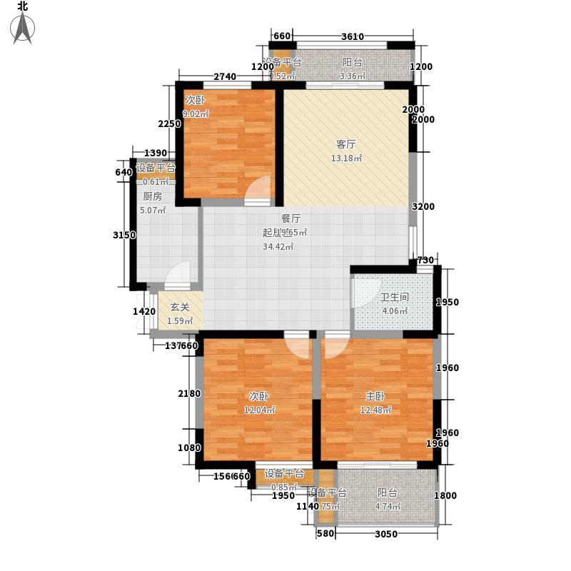 安粮城市广场119.83㎡安粮城市广场户型图9号楼E户型3室2厅2卫1厨户型3室2厅2卫1厨