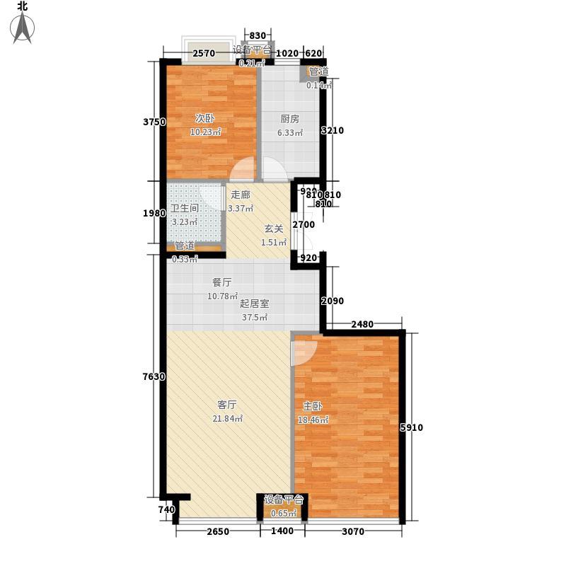 蓝天新村户型图蓝天1-5村2室2厅1卫1厨 2室2厅1卫1厨