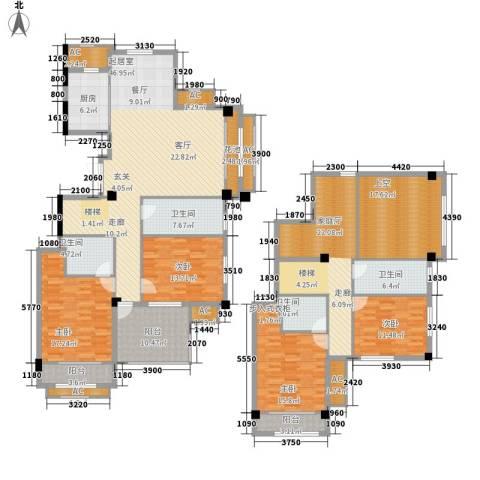 中茵名都4室0厅4卫1厨225.00㎡户型图