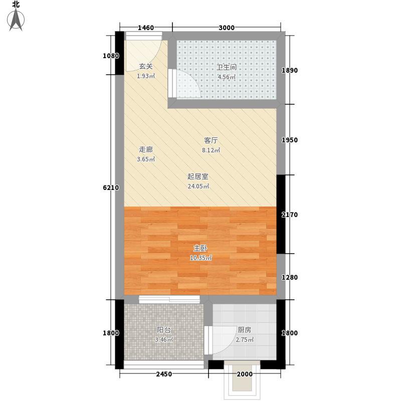 凯世捷财富广场5.00㎡一批次B座标准层B5户型