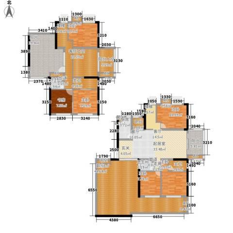 ECO城6室0厅2卫1厨235.00㎡户型图