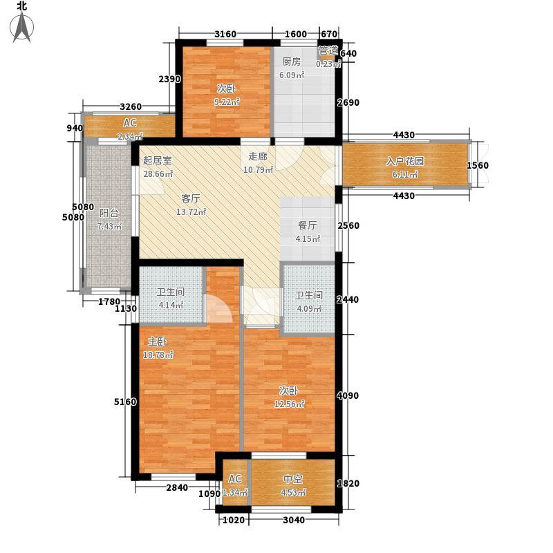 桂语山居120.00㎡桂语山居户型图2室2厅2卫1厨120.00㎡户型2室2厅2卫1厨