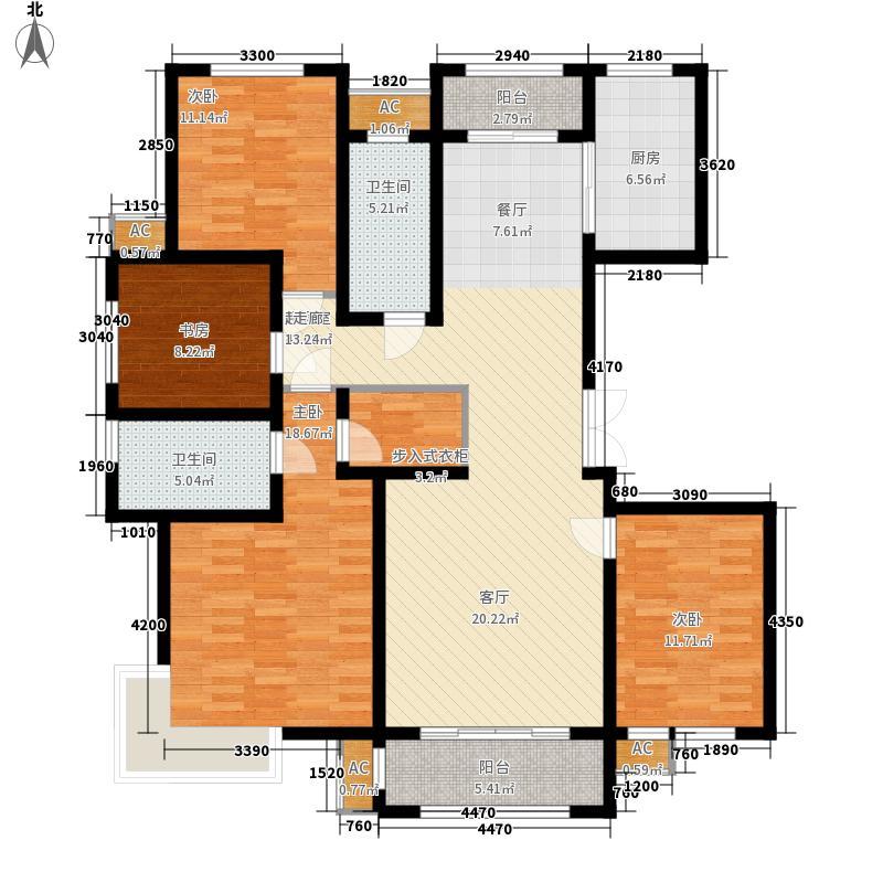 中铁・逸都国际户型图D2户型 4室2厅2卫1厨