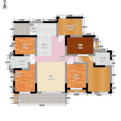 团结二村5室0厅2卫0厨112.00㎡户型图