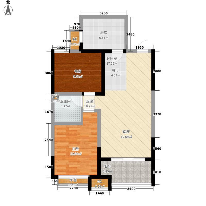 新加坡城97.00㎡新加坡城户型图26FB1户型2室2厅1卫户型2室2厅1卫