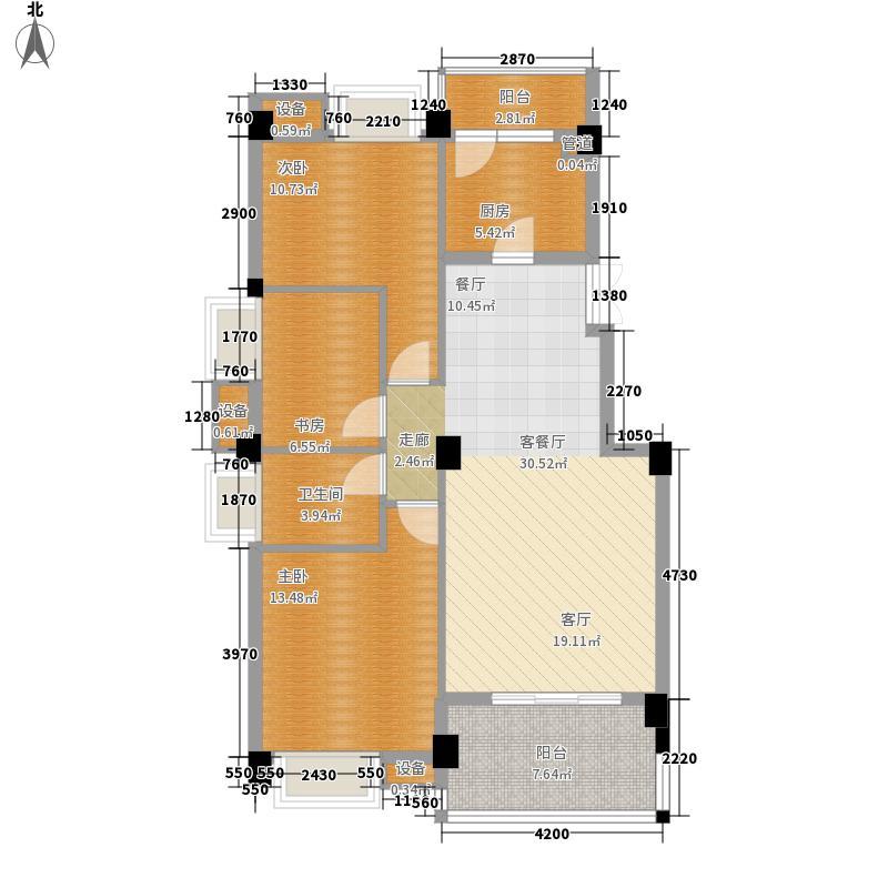 世欧彼岸城世欧彼岸城户型图3室2厅1卫1厨户型10室