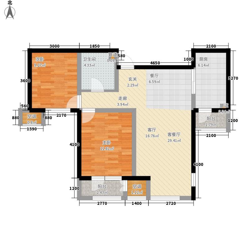 松江城97.00㎡松江城户型图(6/7张)户型10室