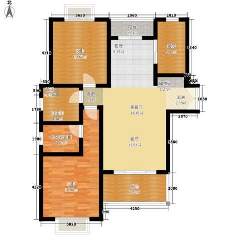 鼎隆公寓(杨浦)2室1厅1卫1厨103.00㎡户型图