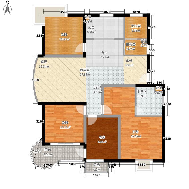 星海名城137.90㎡普通住宅面积13790m户型