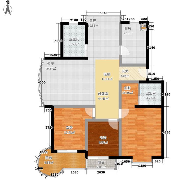 星海名城120.00㎡普通住宅面积12000m户型