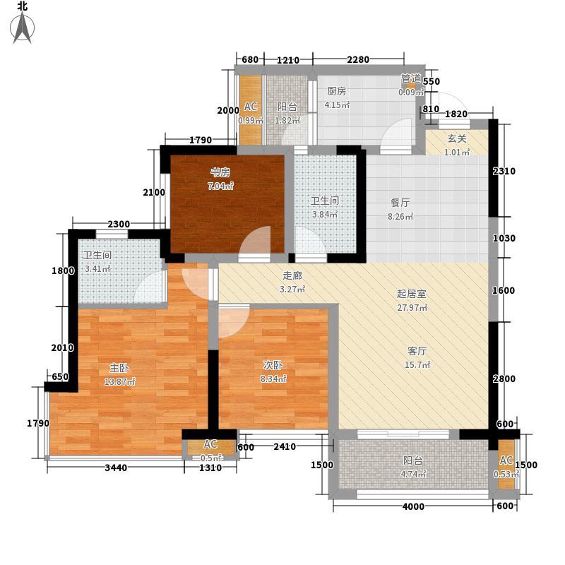 邦泰中心住宅A1户型