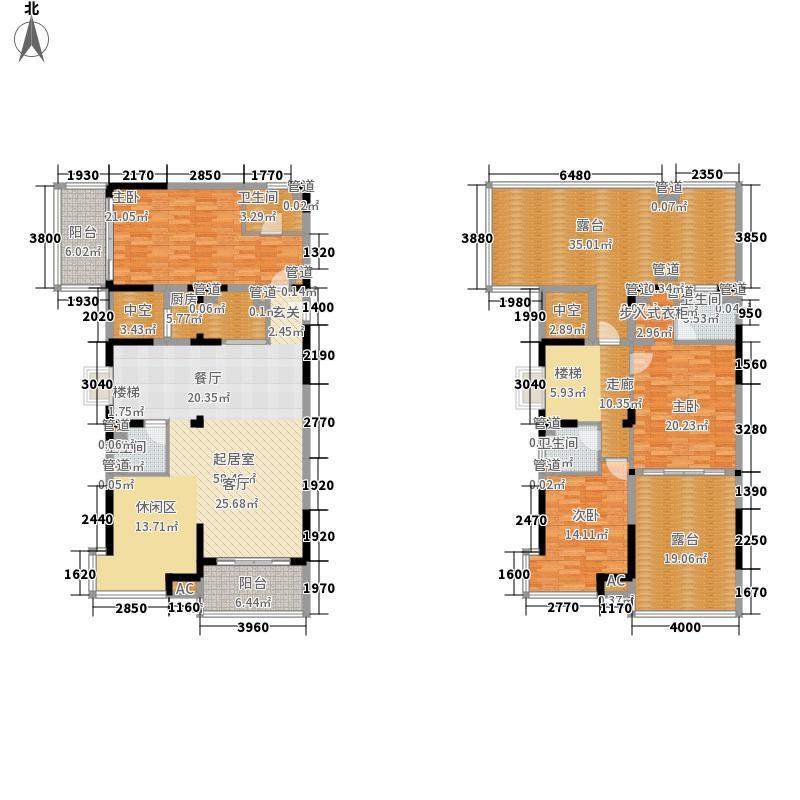 三永银河海湾三永银河海湾4、5栋A户型(跃层)4室2厅4卫户型10室